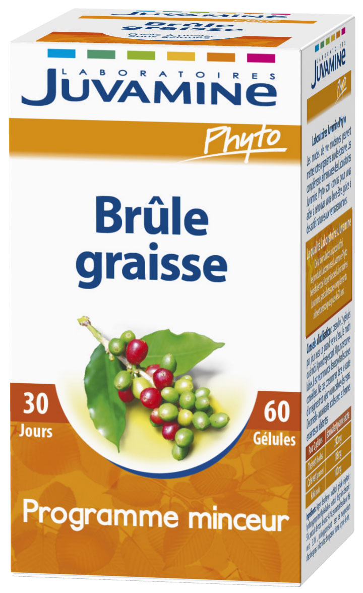 Juvamine Phyto Brûle Graisse 60 Gélules