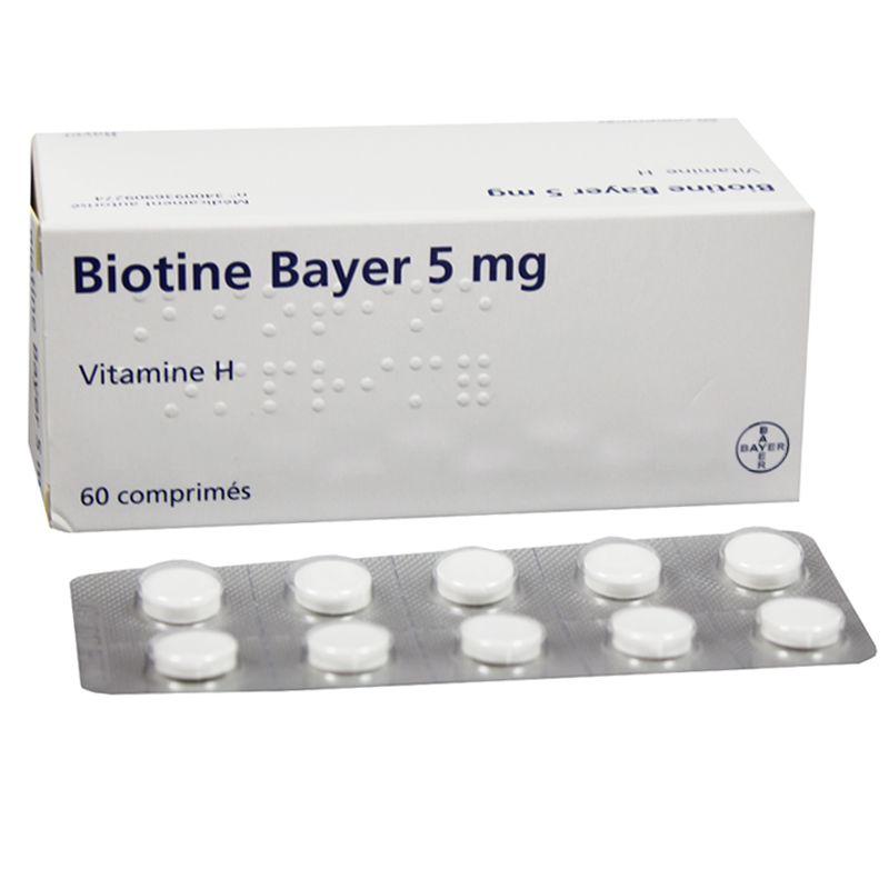 Biotin 5 Mg N Инструкция