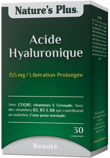 prix de nature s plus acide hyaluronique 155mg lib ration prolong e 30 comprim s. Black Bedroom Furniture Sets. Home Design Ideas