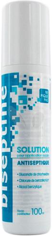 BISEPTINE SOLUTION flacon pulvérisateur 100ml - Bayer - Prix