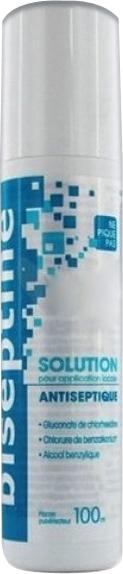 Prix de BISEPTINE SOLUTION flacon pulvérisateur 100ml - Bayer