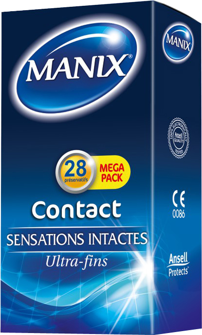 CONTACT - Sensations Intactes - 28 préservatifs