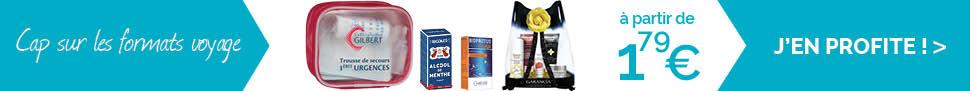 Découvrez  notre sélection de petits formats voyage à glisser dans vos bagages ! Plus votre code promo !