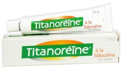 Prix de Titanoreïne crème hémorroïdaire à la lidocaïne 20g