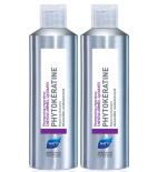 PHYTOKERATINE - Shampooing Réparateur - Lot de 2 x 200 ml