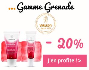 Gamme Grenade de Weleda