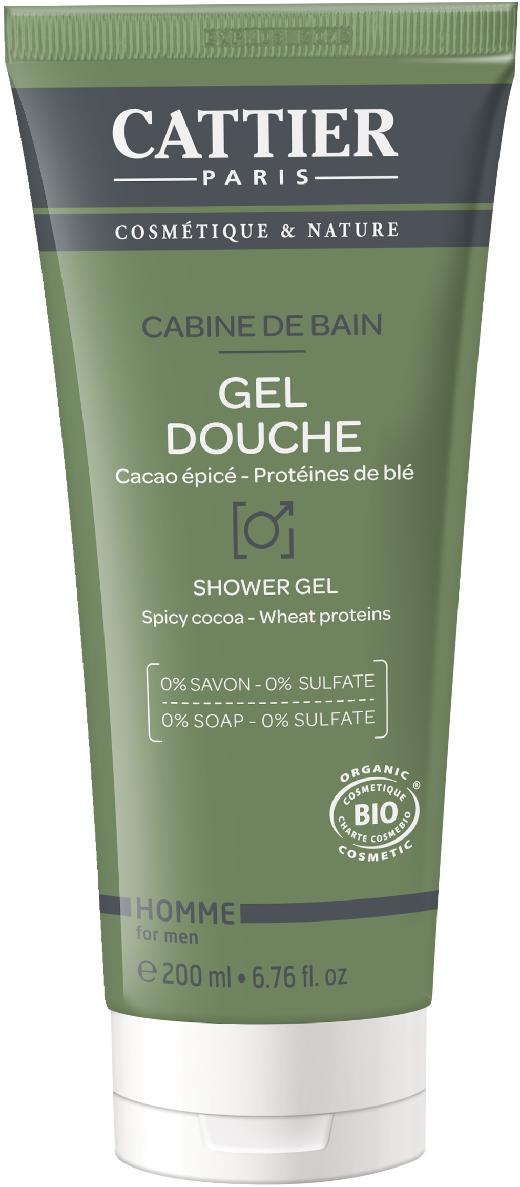 Gel Douche Cabine de Bain Bio 200ml