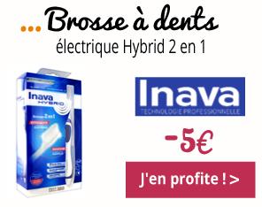 Brosse à dents électrique Hybrid Inava -