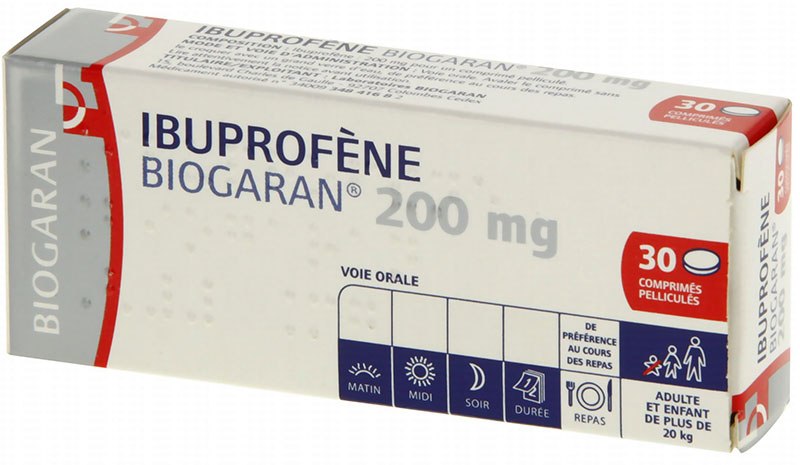 Prix de BIOGARAN Ibuprofène 200 mg - 30 comprimés
