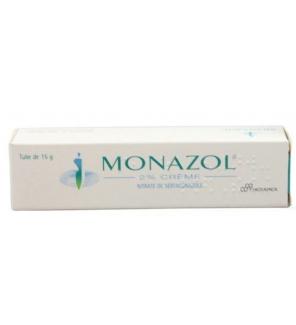 Monazol 2 % Crème tube de 15 g - JeVaisMieuxMerci.com