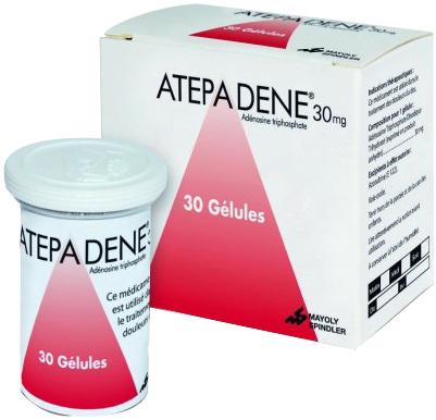 Prix d'Atepadene 30 mg - Mayoly Spindler