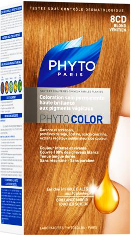 prix de phyto phytocolor 8cd blond v nitien. Black Bedroom Furniture Sets. Home Design Ideas