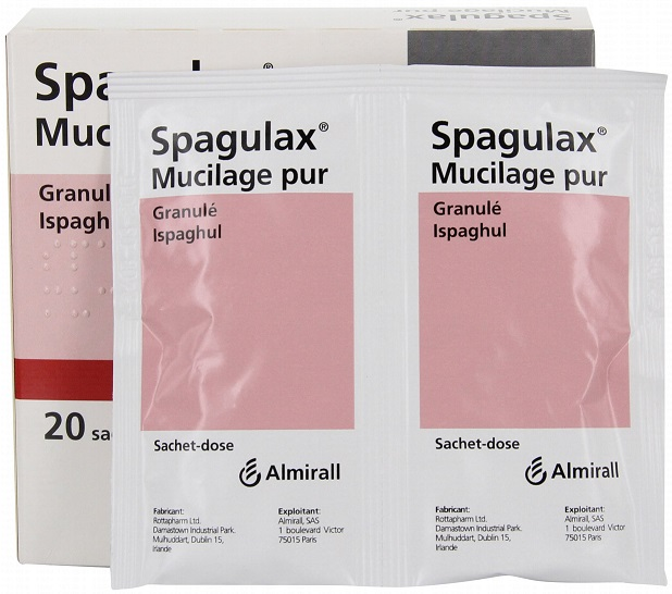 Prix de Spagulax Mucilage Pur Granulé Ispaghul Boite de 20 ...