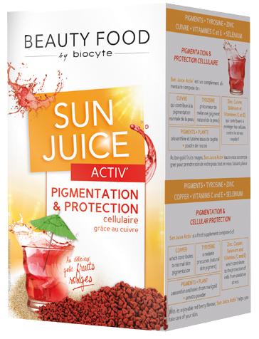 Prix de Biocyte sun juice activ - 140g