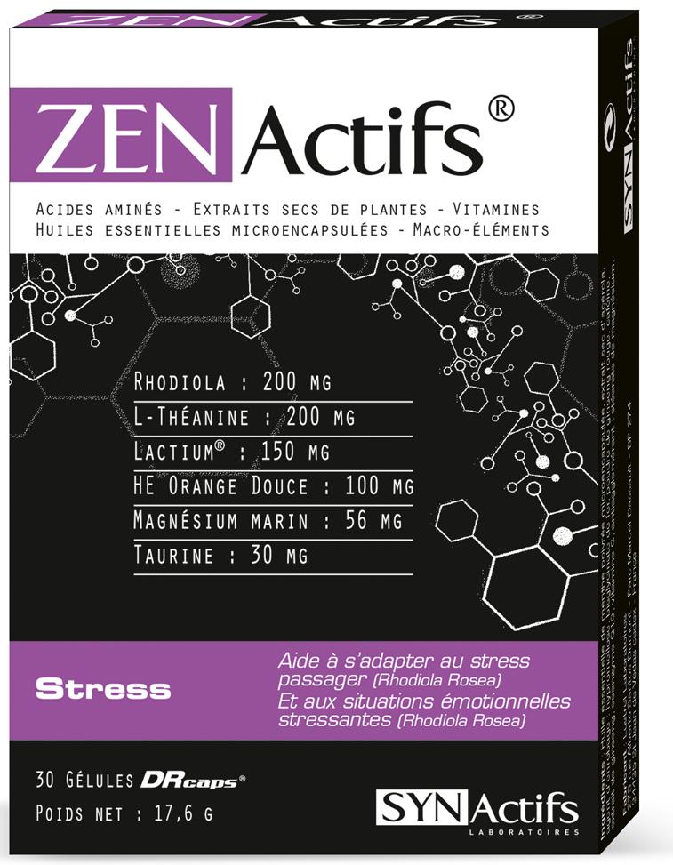 Prix de SYNACTIFS ZENACTIFS 30 gélules