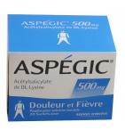 Aspegic 500 mg - 30 sachets en poudre à diluer