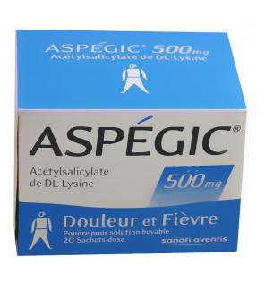 aspegic 500 mg aspirine m dicaments anti douleurs sans ordonnance. Black Bedroom Furniture Sets. Home Design Ideas