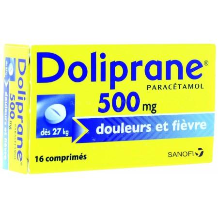 sanofi doliprane 500 mg paracetamol comprim s jevaismieuxmerci. Black Bedroom Furniture Sets. Home Design Ideas