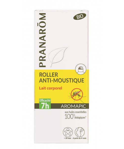 AROMAPIC - Roller Anti-Moustique Bio - 75 ml