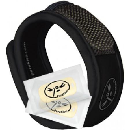 2 recharges Parakito bracelet anti-moustique Graffic bleu