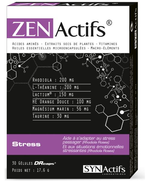 SYNACTIFS - ZENActifs Stress - Jevaismieuxmerci