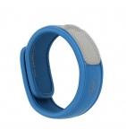 Bracelet anti-moustiques Bleu - 1 bracelet + 2 recharges