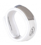Bracelet anti-moustiques Blanc - 1 bracelet + 2 recharges