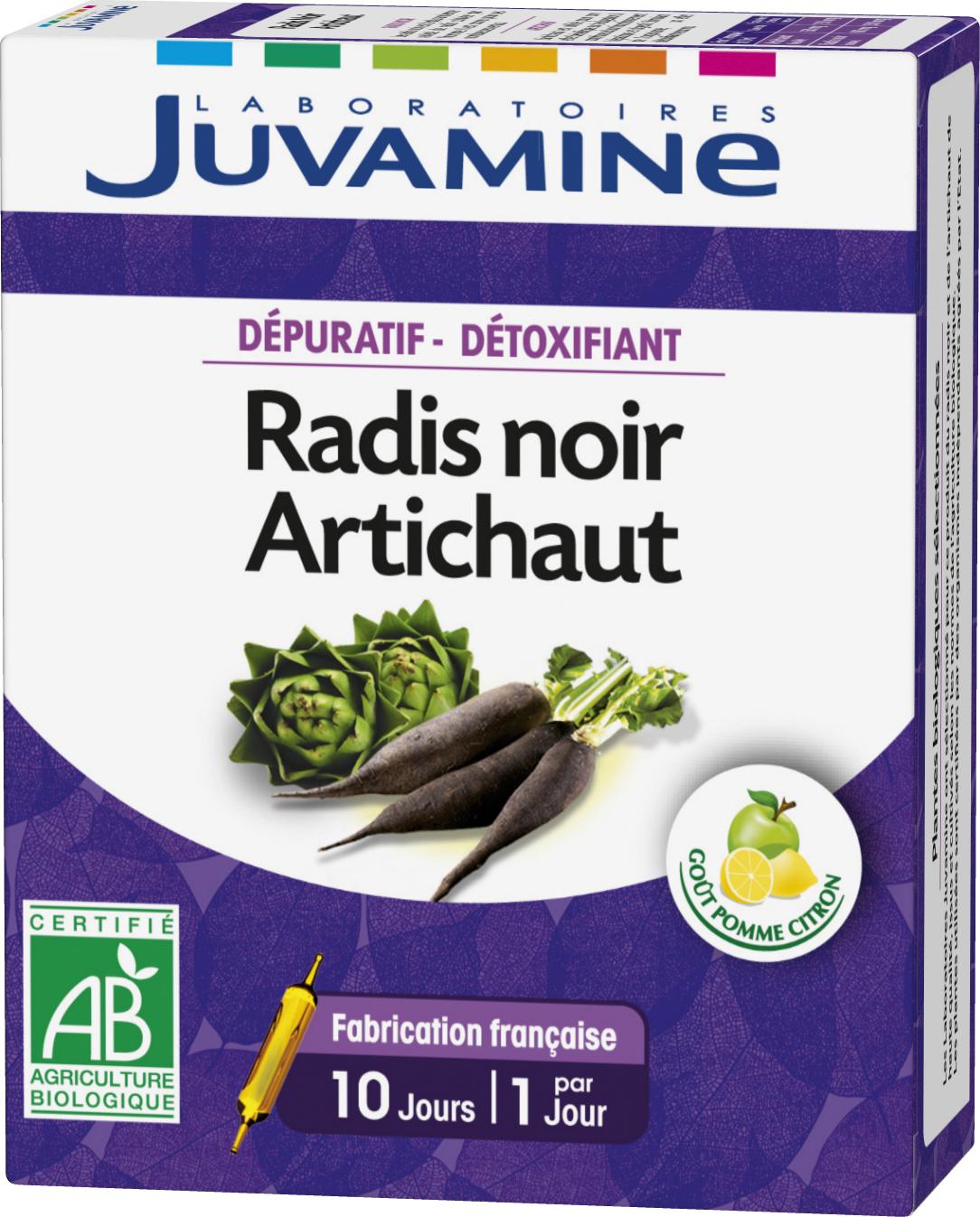 Prix de Juvamine Dépuratif-Détoxifiant Radis Noir et