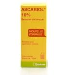 Ascabiol 10%, émulsion pour la peau. 'Gale' - 125 ml