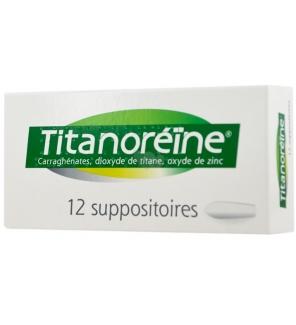 JOHNSON & JOHNSON - Suppositoires Titanoreïne 12