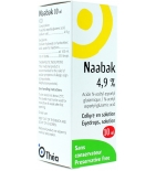Naabak 4,9 % collyre - 10 ml