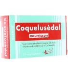 Coquelusédal Nourrisson - 10 Suppositoires