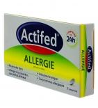 ACTIFED - Allergie Cetirizine 10 mg - 7 comprimés