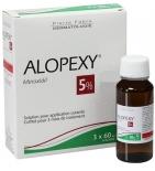 ALOPEXY - Minoxidil 5% Anti-Chute de Cheveux Modérée - 3 x 60 ml