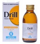 DRILL - Sirop Toux Sèche Adulte Sans Sucre - 125 ml
