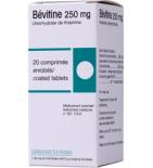 Bevitine 250 mg - 1 tube de 20 comprimés