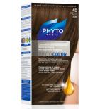 PHYTO COLOR - Coloration Permanente 4D Châtain Clair Doré - 125 ml