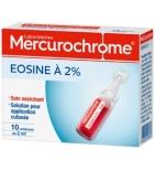 Eosine à 2 % en Unidose 2 ml - 10 unidoses