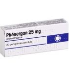 Phenergan  25 mg - 20 comprimés