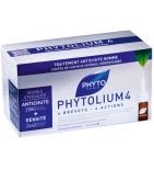 PHYTOLIUM - 4 - Traitement Anti-chute Homme - 12 Fioles + 6 gratuites