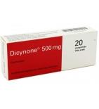 Dicynone 500 mg - 20 comprimés