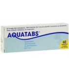 Aquatabs Purification de l'Eau - 60 comprimés