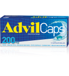 Advil Caps 200 mg Ibuprofène - 16 capsules molles