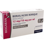 Borax Acide Borique Solution Ophtalmique 5 ml - 20 unidoses