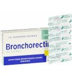 Bronchorectine au Citral Enfants - 10 suppositoires