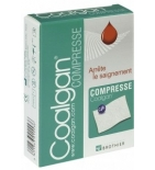 COALGAN - Compresses Hémostatiques - 5 compresses