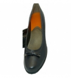 Chaussure Ballerines Cardiff Noir P 38 - 1 paire
