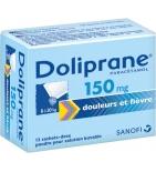 Doliprane 150 mg - 12 sachets