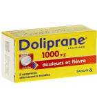 Doliprane 1000 mg Paracétamol - 8 comprimés effervescents