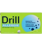 DRILL - Allergie Cétirizine à Sucer 10 mg - 7 comprimés